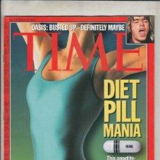Coleccionismo de Revistas y Periódicos: REVISTA TIME Nº 23 SEPTIEMBRE AÑO 1996. DIETA PILDORA MANIA.. Lote 194278857