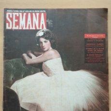 Coleccionismo de Revistas y Periódicos: REVISTA SEMANA Nº 1030 1959 MARTA SILVELA BARCAIZTEGUI. MISS MUNDO. ISLA DE CABRERA. PIMIENTA. Lote 194278866