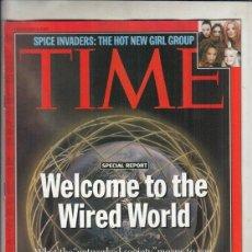 Coleccionismo de Revistas y Periódicos: REVISTA TIME Nº 3 FEBRERO AÑO 1997. INVASORAS DE ESPECIAS. EL NUEVO GRUPO DE CHICAS CALIENTES.. Lote 194287057