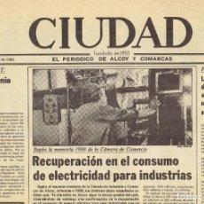 Coleccionismo de Revistas y Periódicos: LA CIUDAD DE ALCOY, DE 1981. Lote 194288657