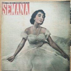 Coleccionismo de Revistas y Periódicos: REVISTA SEMANA Nº 768 1954 BLANCA GARCÍA VALDECASAS Y ANDRADA VANDERWILDE. MARIA FELLIX, ALCOY. Lote 194291451