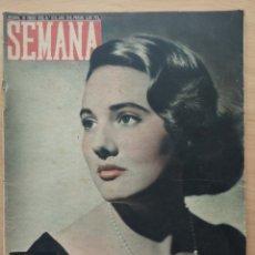 Coleccionismo de Revistas y Periódicos: REVISTA SEMANA Nº 829 1956 MARISOL ARRIGHI MEDIANO. GRACE KELLY Y RAINIERO DE MONACO. Lote 194292137