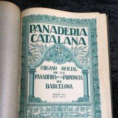 Coleccionismo de Revistas y Periódicos: PANADERÍA CATALANA - 1931 - AÑO COMPLETO - PAN - LEVADURAS - AMASADORAS .... Lote 194303496
