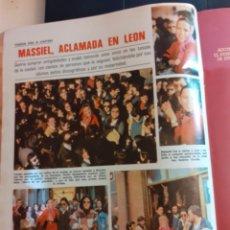 Coleccionismo de Revistas y Periódicos: MASSIEL EN LEON . Lote 194308917