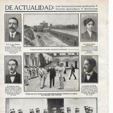 Coleccionismo de Revistas y Periódicos: 1911 HOJA REVISTA LOGROÑO INAUGURACIÓN NUEVO MATADERO - MADRID FRANCISCO CALVIST MÚSICO DE TROMPA. Lote 194309683