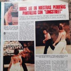 Coleccionismo de Revistas y Periódicos: BRUCE LEE. Lote 194310390