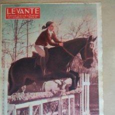 Coleccionismo de Revistas y Periódicos: LEVANTE SUPLEMENTO 1964 VALENCIA, HIPICA, SAN ANTON, AYORA, . Lote 194318645