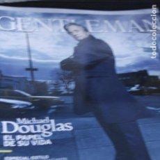 Coleccionismo de Revistas y Periódicos: REVISTA GENTLEMAN MICHAEL DUGLAS CARLOS FUENTES 2010. Lote 194318876