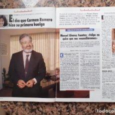 Coleccionismo de Revistas y Periódicos: MANUEL ALVAREZ FUENTES CARMEN ROMERO . Lote 194318897