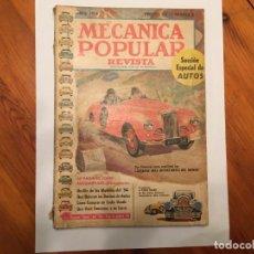 Coleccionismo de Revistas y Periódicos: MECANICA POPULAR REVISTA,ABRIL 1954. Lote 194334316
