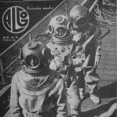 Coleccionismo de Revistas y Periódicos: ALGO. ILUSTRACIÓN POPULAR. AÑO VIII, Nº340. DIRECTOR: M. JIMÉNEZ MOYA. BARCELONA, 1936.. Lote 194339016