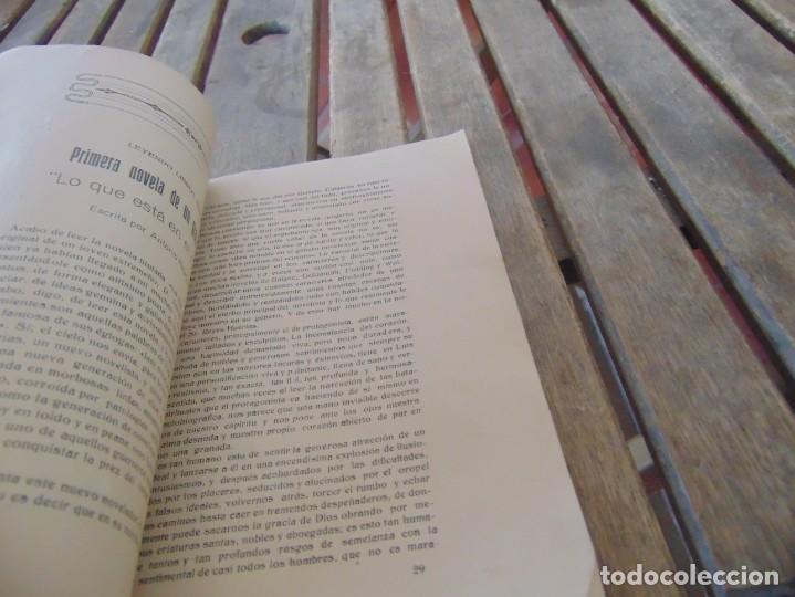 Coleccionismo de Revistas y Periódicos: REVISTA DE MORÓN DE LA FRONTERA BÉTICO EXTREMEÑA. ANDALUCÍA PORTADA INCOMPLETA - Foto 3 - 194341140