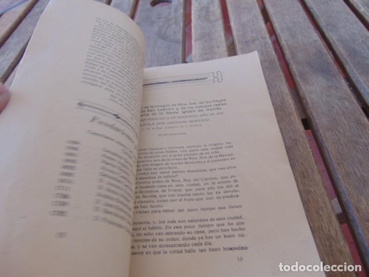 Coleccionismo de Revistas y Periódicos: REVISTA DE MORÓN DE LA FRONTERA BÉTICO EXTREMEÑA. ANDALUCÍA PORTADA INCOMPLETA - Foto 6 - 194341140
