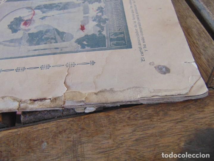 Coleccionismo de Revistas y Periódicos: REVISTA DE MORÓN DE LA FRONTERA BÉTICO EXTREMEÑA. ANDALUCÍA PORTADA INCOMPLETA - Foto 7 - 194341140
