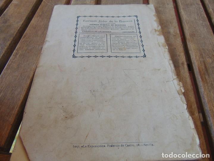 Coleccionismo de Revistas y Periódicos: REVISTA DE MORÓN DE LA FRONTERA BÉTICO EXTREMEÑA. ANDALUCÍA PORTADA INCOMPLETA - Foto 11 - 194341140
