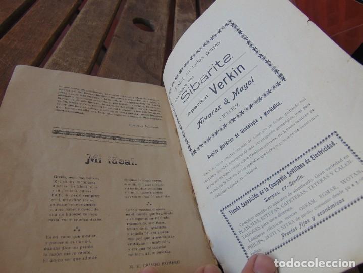 Coleccionismo de Revistas y Periódicos: REVISTA DE MORÓN DE LA FRONTERA BÉTICO EXTREMEÑA. ANDALUCÍA PORTADA INCOMPLETA - Foto 12 - 194341140