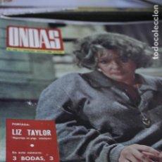 Coleccionismo de Revistas y Periódicos: ELIZABETH TAYLOR ROMY SCHNEIDER SORAYA MIA FARROW FRANCE GALL BEATLES 1966. Lote 194344423