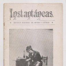 Coleccionismo de Revistas y Periódicos: INSTANTÁNEAS. REVISTA SEMANAL DE ARTES Y LETRAS. Nº 6. NOVIEMBRE 1898. Lote 194345392