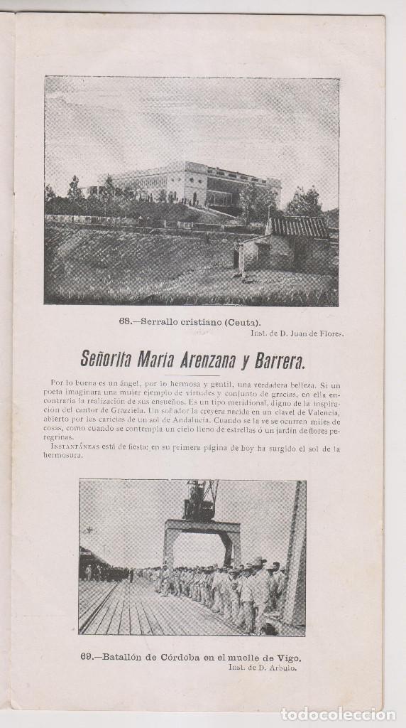 Coleccionismo de Revistas y Periódicos: INSTANTÁNEAS. AÑO II, Nº 65. 26 NOVIEMBRE 1898. - Foto 3 - 194346666