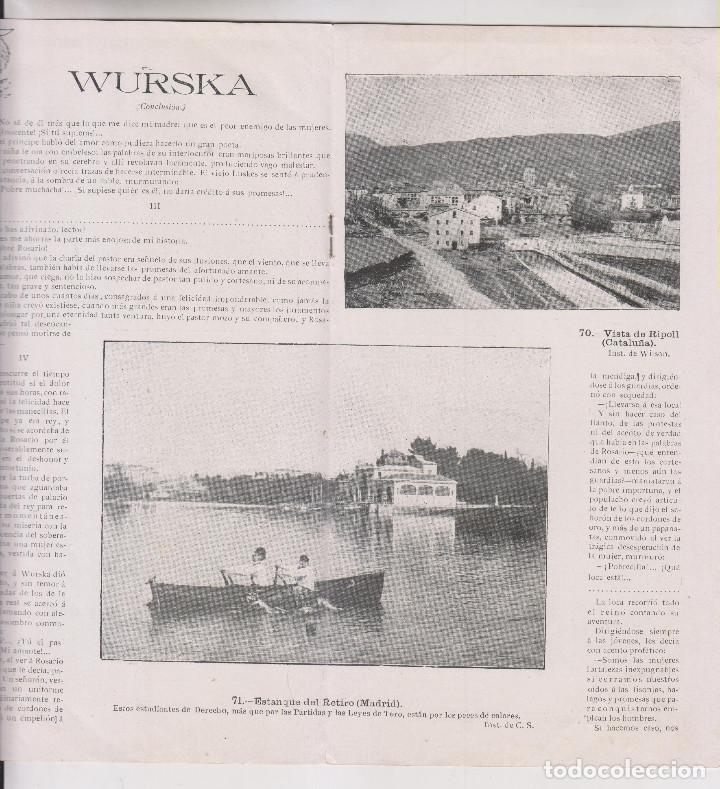 Coleccionismo de Revistas y Periódicos: INSTANTÁNEAS. AÑO II, Nº 65. 26 NOVIEMBRE 1898. - Foto 4 - 194346666