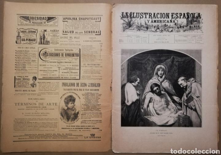 LA ILUSTRACIÓN ESPAÑOLA Y AMERICANA - 30 MARZO 1899 - VIACRUCIS - SOROLLA - TEMAS RELIGIOSOS - (Coleccionismo - Revistas y Periódicos Antiguos (hasta 1.939))