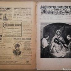 Coleccionismo de Revistas y Periódicos: LA ILUSTRACIÓN ESPAÑOLA Y AMERICANA - 30 MARZO 1899 - VIACRUCIS - SOROLLA - TEMAS RELIGIOSOS - . Lote 194349857