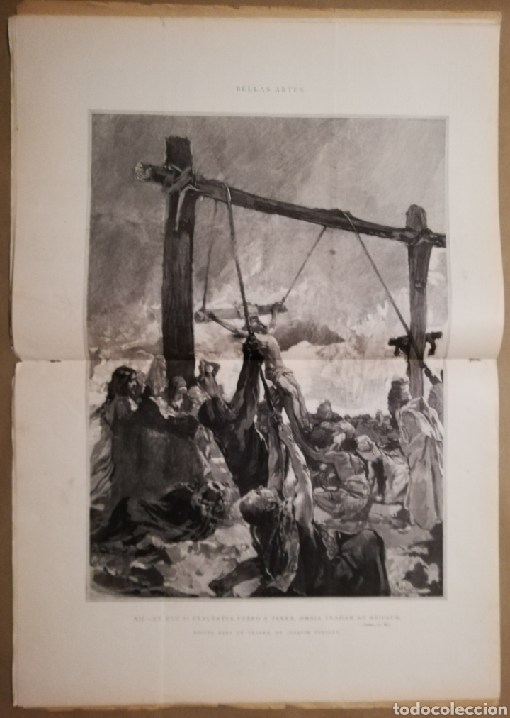 Coleccionismo de Revistas y Periódicos: LA ILUSTRACIÓN ESPAÑOLA Y AMERICANA - 30 marzo 1899 - VIACRUCIS - SOROLLA - Temas religiosos - - Foto 5 - 194349857