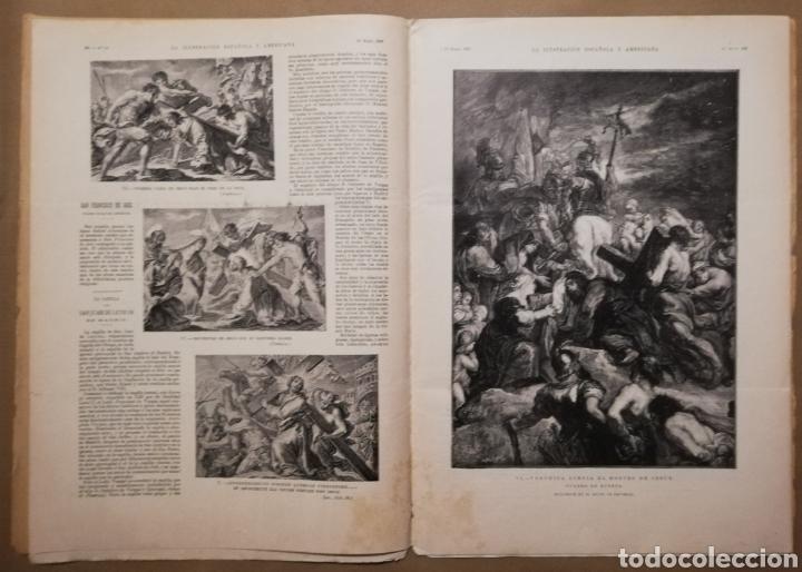 Coleccionismo de Revistas y Periódicos: LA ILUSTRACIÓN ESPAÑOLA Y AMERICANA - 30 marzo 1899 - VIACRUCIS - SOROLLA - Temas religiosos - - Foto 3 - 194349857