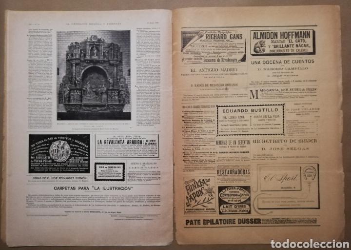 Coleccionismo de Revistas y Periódicos: LA ILUSTRACIÓN ESPAÑOLA Y AMERICANA - 30 marzo 1899 - VIACRUCIS - SOROLLA - Temas religiosos - - Foto 6 - 194349857