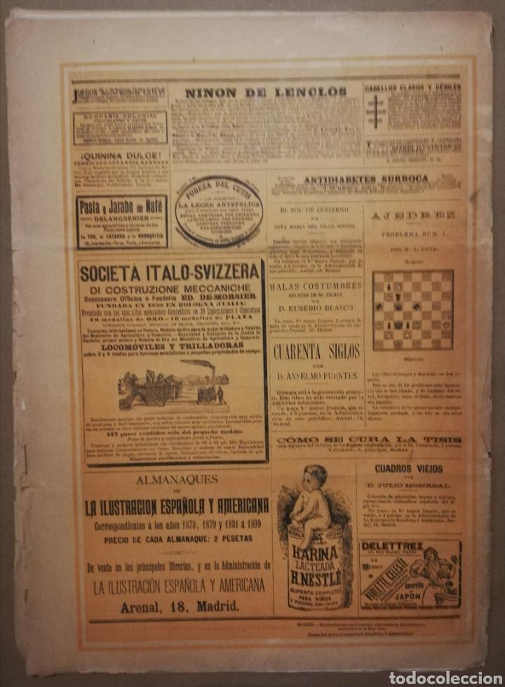 Coleccionismo de Revistas y Periódicos: LA ILUSTRACIÓN ESPAÑOLA Y AMERICANA - 30 marzo 1899 - VIACRUCIS - SOROLLA - Temas religiosos - - Foto 10 - 194349857