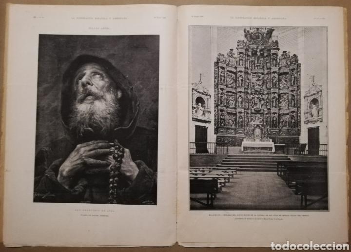Coleccionismo de Revistas y Periódicos: LA ILUSTRACIÓN ESPAÑOLA Y AMERICANA - 30 marzo 1899 - VIACRUCIS - SOROLLA - Temas religiosos - - Foto 8 - 194349857