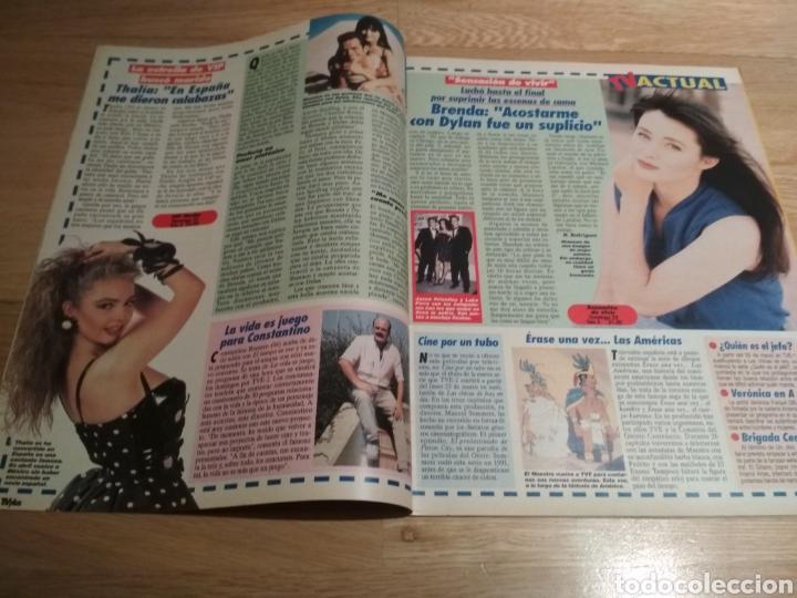 Coleccionismo de Revistas y Periódicos: Revista tvplus 271 Shannen Doherty 90210 Thalía 1992 - Foto 2 - 194352463
