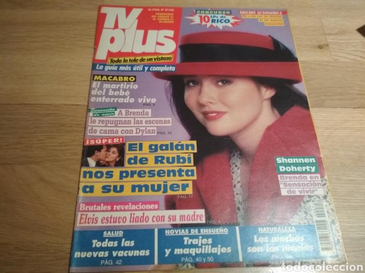 REVISTA TVPLUS 271 SHANNEN DOHERTY 90210 THALÍA 1992 (Coleccionismo - Revistas y Periódicos Modernos (a partir de 1.940) - Otros)