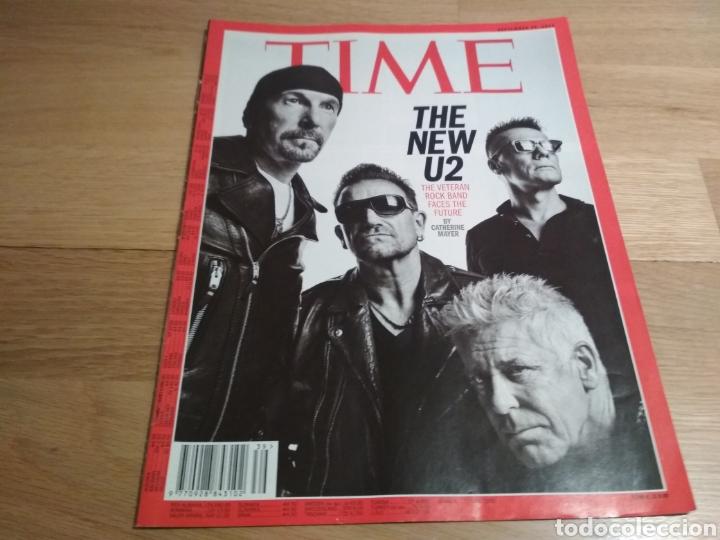 REVISTA TIME 2014 U2 (Coleccionismo - Revistas y Periódicos Modernos (a partir de 1.940) - Otros)
