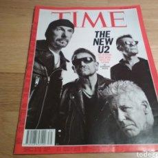 Coleccionismo de Revistas y Periódicos: REVISTA TIME 2014 U2. Lote 194353030