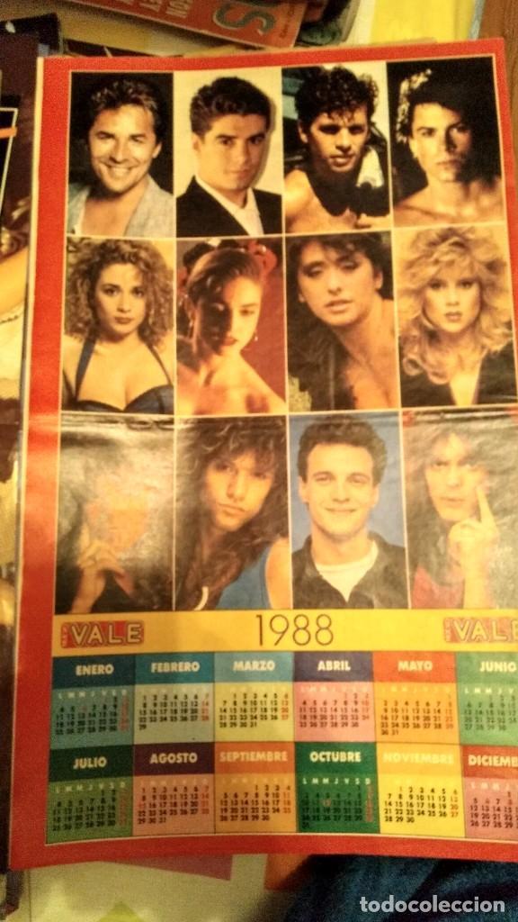 POSTER AÑO 1988 CALENDARIO REVISTA NUEVO VALE SAMANTHA FOX, SABRINA, MADONNA Y MARTA SÁNCHEZ (Coleccionismo - Revistas y Periódicos Modernos (a partir de 1.940) - Otros)