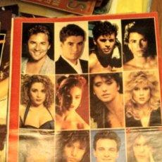 Coleccionismo de Revistas y Periódicos: POSTER AÑO 1988 CALENDARIO REVISTA NUEVO VALE SAMANTHA FOX, SABRINA, MADONNA Y MARTA SÁNCHEZ. Lote 194354233