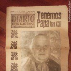 Coleccionismo de Revistas y Periódicos: DIARIO DE LEÓN. Lote 194354358