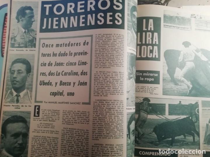 Coleccionismo de Revistas y Periódicos: DIGAME AÑO 1970 NUMERO EXTRAORDINARIO DE TOROS A COLOR GRAN FORMATO 43X29 CM - Foto 8 - 194355540