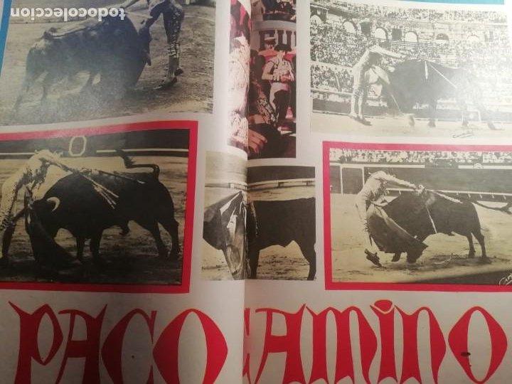 Coleccionismo de Revistas y Periódicos: DIGAME AÑO 1970 NUMERO EXTRAORDINARIO DE TOROS A COLOR GRAN FORMATO 43X29 CM - Foto 11 - 194355540