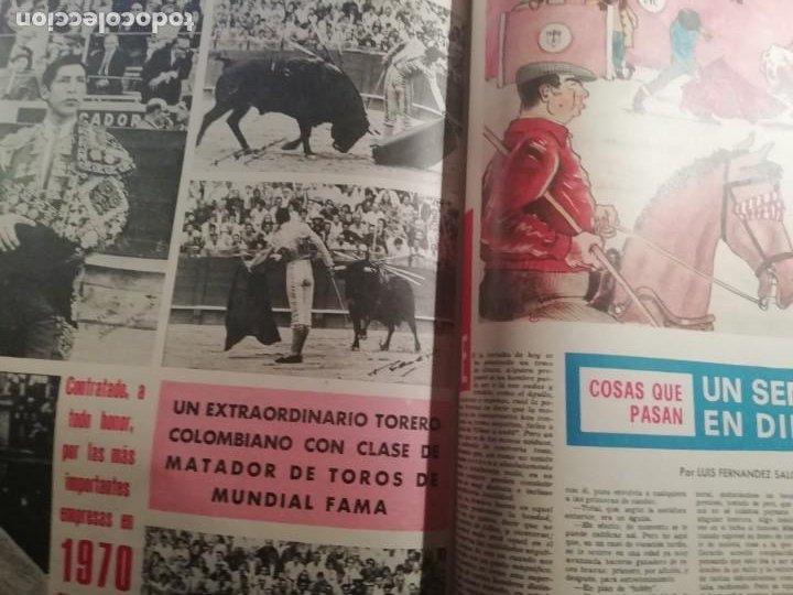 Coleccionismo de Revistas y Periódicos: DIGAME AÑO 1970 NUMERO EXTRAORDINARIO DE TOROS A COLOR GRAN FORMATO 43X29 CM - Foto 14 - 194355540