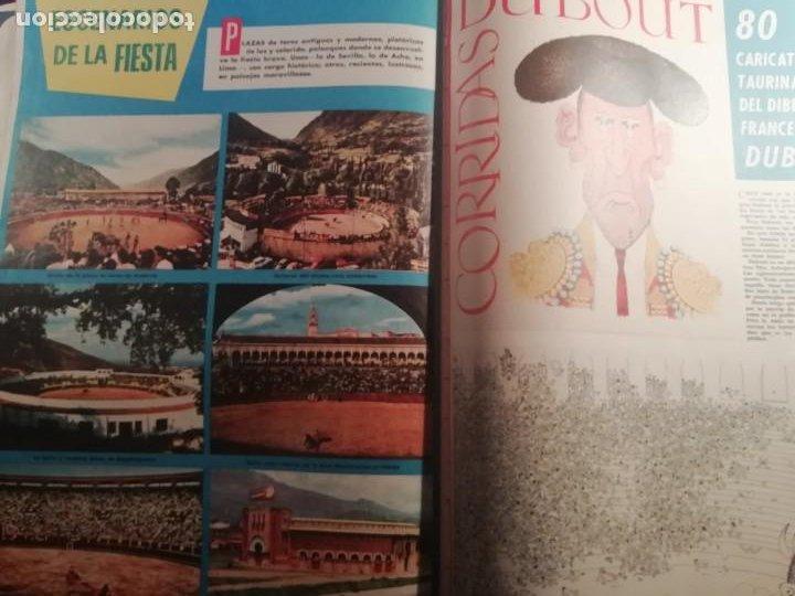 Coleccionismo de Revistas y Periódicos: DIGAME AÑO 1970 NUMERO EXTRAORDINARIO DE TOROS A COLOR GRAN FORMATO 43X29 CM - Foto 16 - 194355540