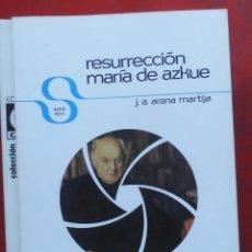 Coleccionismo de Revistas y Periódicos: TEMAS VIZCAINOS. RESU8RRECCIÓN MARÍA DE AZKUE. Lote 194359080