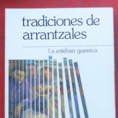 Coleccionismo de Revistas y Periódicos: TEMAS VIZCAINOS. TRADICIONES DE ARRANTZALES. Lote 194359105