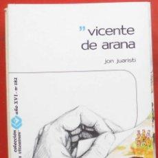 Coleccionismo de Revistas y Periódicos: TEMAS VIZCAINOS. VICENTE DE ARANA. Lote 194359126