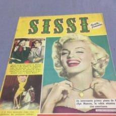 Coleccionismo de Revistas y Periódicos: MARILYN MONROE REVISTA SISSI 1958. Lote 194360872