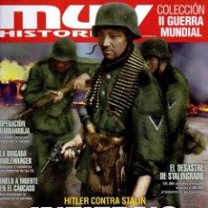 Coleccionismo de Revistas y Periódicos: MUY HISTORIA COLECCION II GUERRA MUNDIAL N. 12 - EN PORTADA: INFIERNO EN EL FRENTE ORIENTAL (NUEVA). Lote 194365608