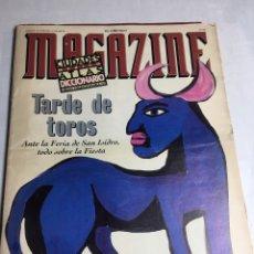 Coleccionismo de Revistas y Periódicos: MAGAZINE TARDE DE TOROS - Nº 238 - TARDE DE TOROS - EL MUNDO . Lote 194367377
