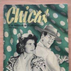 Coleccionismo de Revistas y Periódicos: REVISTA CHICAS Nº 44 1951 VALENTINA KASCHOUBA, JOSITA HERNÁN, TOM DRAKE. Lote 194367680