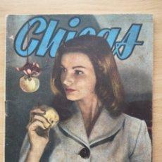 Coleccionismo de Revistas y Periódicos: REVISTA CHICAS Nº 220 1954 JUANITA REINA, GLORIA NAVARRO ALCAUZ. Lote 194367927
